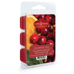 Wosk CRANBERRY SAGE Candle Warmers
